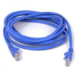 Belkin 15M Cat5E Snagless Patch Cable Blue A3L791Bt15Mblus