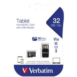 Verbatim Tablet U1 Microsdhc/ Sdxc Card 44059