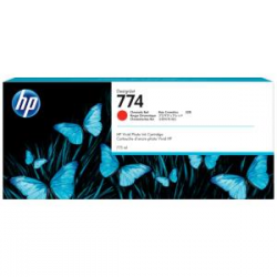 HP 774 775-ml Chromatic Red DesignJet Ink Cartridge (P2W02A)