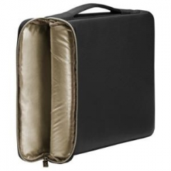 """HP 14"""" BLK/GOLD CARRY SLEEVE A/P (3XD33AA)"""