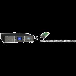 EATON 9PX 1500VA RACK/TOWER 10AMP INPUT + Warranty+ standard uplift 5 year: 9 seri + Gigabit Network Card (3553433 + 2681794 + 4334350)
