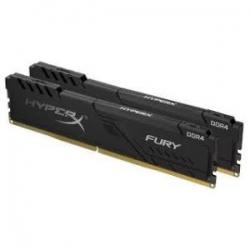 Kingston 16GB DDR4 2666MHz CL16 DIMM Kit of 2 1Rx8 HyperX FURY Black (HX426C16FB3K2/16)