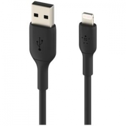 Belkin BOOST CHARGE LTG TO USB-A CABLE 1M Black (CAA001BT1MBK)