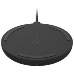 Belkin 10W Wireless Charging Pad + Cable (Wall Charger Not Included) (WIA001BTBK)