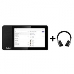 Lenovo Thinksmart View Microsoft Teams Device + X1 ANC Headphones (THINKSMART PERSONAL COLLABORATION)
