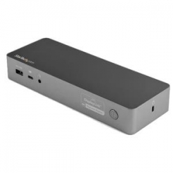 Startech USB-C & USB-A Dock - Hybrid Universal Laptop Docking Station with 100W Power Delivery (DK30C2DPEP)