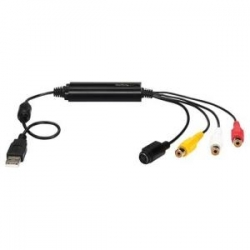 Startech USB Video Capture Adapter Cable - S-Video/Composite to USB 2.0 SD Video Capture Device Cable (SVID2USB232)