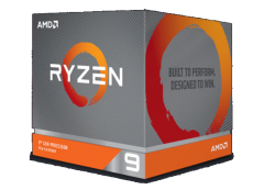 AMD Processor: Socket Am4 12 Core 24 Threads Up To 4.60Ghz 70Mb Cache 105W Cpu With Wraith Prism Rgb Cooler Ryzen 9 3900X