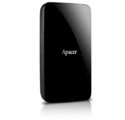 "Apacer Ac233 500gb Hdd Usb 3.0 2.5"" Ext Hard Disk, Black, Retail Package"