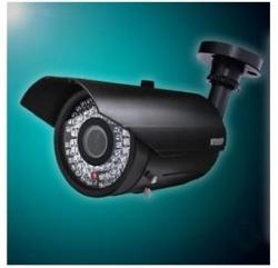 Kguard Cctv Security Weatherproof Ir Camera - 1/ 3`` Had Ccd 540tv Lines, 72ir Leds, 6-15mm Vf