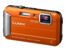 Panasonic Lumix Ft30 16.1mp Orange Tough Dmc-ft30gn-d