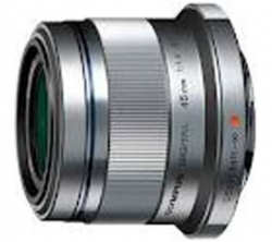 Olympus ET-M4518 45mm Portrait Lens M.Zuiko Digital ED 45mm f1.8 MSC, Silver