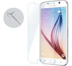 I-tech Premium Tempered Glass Screen Protector For Samsung Galaxy S6 With 2.5d Curved Edge