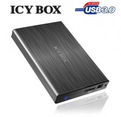"Icy Box Ib-231stu3-g External Usb 3.0 Enclosure For 2.5"" Sata Hdds Hddicy231u3alum"