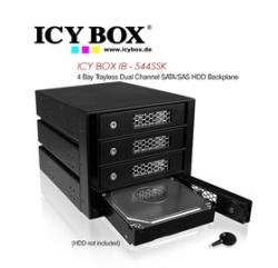 Icy Box (ib - 544ssk) 4 Bay Trayless Dual Channel Sata/ Sas Hdd Backplane Hddicy544ssk