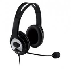 Microsoft Lifechat Lx-3000 Headset Windows Usb Noise Cancelling Mic Black (retail) Jug-00017