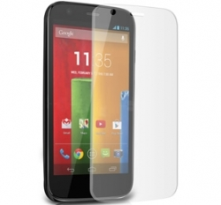 I-tech Premium Tempered Glass Screen Protector For Motorola Moto G 2013 With 2.5d Curved Edge