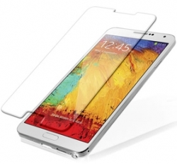 I-tech Premium Tempered Glass Screen Protector For Samsung Note 3 With 2.5d Curved Edge