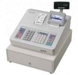 Sharp Cash Register With Raised Keyboard/ White. Built-in Sd Card Slot For Easy Sales Data Transfer