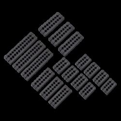 Corsair Premium Type 4 Gen 4 Cable Comb Kit, Black CP-8920257