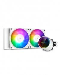 Deepcool Castle 240EX A-RGB White CPU Liquid Cooler DP-GS-H12W-CSL240EX-AR-WH