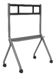 """COMMBOX ELEGANCE FIXED MOBILE STAND W/ PEN SHELF, FOR TOUCHSCREENS AND DISPLAYS 55"""" TO 86"""" CBMOBE"""