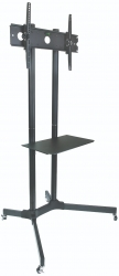"""SPEED STAND 30""""-65"""" AV TROLLEY, VESA 600x400, HEIGHT ADJUSTABLE, UP TO 60KG, LIFE WTY (MNT-SPEED-FS411)"""