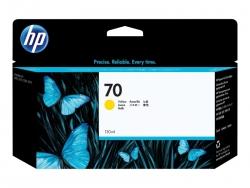 HP 70 130-ML YELLOW INK CARTRIDGE - Z2100/3100/Z5400/Z5200/Z3200 C9454A