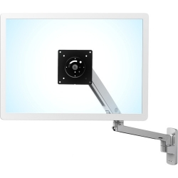 """Ergotron Mounting Arm for TV, LCD Monitor - Polished Aluminum - 1 Display(s) Supported - 86.4 cm (34"""") Screen Support - 45-505-026"""