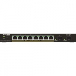 Netgear 10-PORT POE GIGABIT ETHERNET SMART SWITCH (GS310TP) - MANAGED WITH 8 X POE+ 55W 2 X 1G SFP GS310TP-100AJS