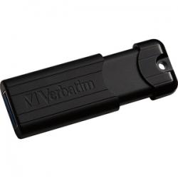 Verbatim USB3.0 Store N GO16GB Pinstripe Black P-Blist 49316