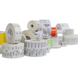 Zebra Label RFID 02.36in X 0.98in (60x25mm) White coated PP 3in(76.2mm) core 500/roll 1/box Plain 10028598