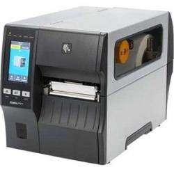 "Zebra TT Printer ZT411; 4"" 203 dpi UK/AU/JP/EU Cords Serial USB 10/100 Ethernet Bluetooth 4.1 ZT41142-T0PC000Z"