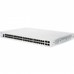 Cisco CBS350-48T-4G 52 Ports Manageable Ethernet Switch - 2 Layer Supported - Modular - CBS350-48T-4G-AU