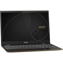 MSI SUMMIT E13FLIP LAPTOP TIGER LAKE I5-1135G7 LPDDR4 16GB 512GB NVME PCIE GEN4X4 SSD IRIS XE GRAPHICS 13.4in