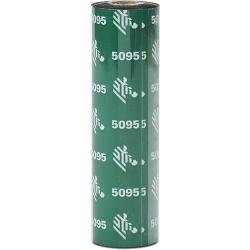 Zebra RIBBON 5095 RESIN 64MM 74 meters C-12.7MM Box of 12 05095GS06407