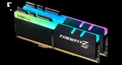 G.Skill TRIDENT Z RGB 32G KIT 2X16G PC4-32000 DDR4 4000MHZ CL16-19-19-39 1.40V DIMM F4-4000C16D-32GTZR