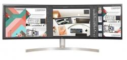 """LG 49"""" (32:9) CURVE DQHD IPS, HDMI(2), USB-C, USB(2), HDR 10, SPKR, H/ADJ, VESA, 3YR 49WL95C-WE"""