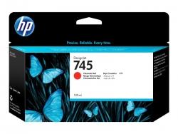 HP 745 130-ML CHROMATIC RED DESIGNJET INK CARTRIDGE - Z2600/Z5600 F9K00A