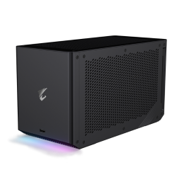 GIGABYTE RTX 3090 GAMING BOX, PCIe x16, 24GB GDDR6X,1xUSB-C,1xLAN,2xDP,WATERFORCE,3YR WTY GV-N3090IXEB-24GD