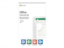 MICROSOFT OFFICE 2019 HOME & BUSINESS - RETAIL BOX, WINDOWS/MAC, T5D-03301