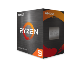 AMD Ryzen 9 5900X, 12-Core/24 Threads, Max Freq 4.8GHz,70MB Cache Socket AM4 105W, without cooler 100-100000061WO