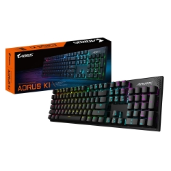 Gigabyte AORUS K1 Aorus Cherry Red Mechanical keyboard/RGB Fusion (per key) (GK-AORUS-K1)