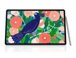 Samsung Galaxy Tab S7+ Wi-Fi 256GB Mystic Silver - S-Pen, 12.4' Display, Qualcomm Snapdragon Processor, 13MP Camera, 8GB RAM (SM-T970NZSEXSA)