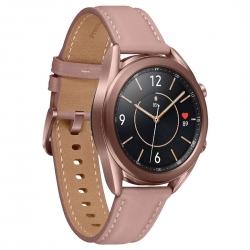 Samsung Galaxy Watch3 Bluetooth (41mm) Mystic Bronze -1.2' Super AMOLED Display,1.15GHz Dual Core CPU, Tizen OS, 8GB Memory,1GB RAM, 340mAh Battery (SM-R850NZDAXSA)
