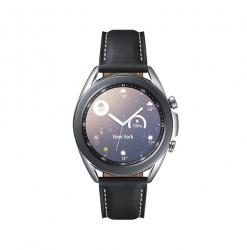 Samsung Galaxy Watch3 Bluetooth (41mm) Mystic Silver - 1.2' Super AMOLED Display,1.15GHz Dual Core CPU, Tizen OS, 8GB Memory,1GB RAM, 340mAh Battery (SM-R850NZSAXSA)