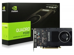 NVidia Quadro P2200 PCIe Workstation Card 5GB DDR5 4xDP 1.4 4x4096x2160@120Hz 160-Bit (P2200-P)