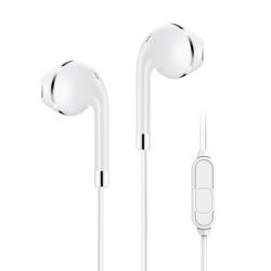 KIVEE MT05W earphone 3.5mm 1.2M White (ELEKIVMT05W)