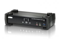 Aten CS1922 2 Port USB 3.0 4K DisplayPort KVMP Switch (006.108.1922)