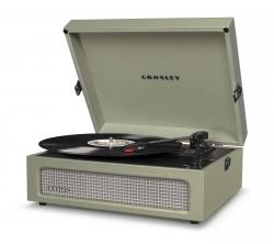 Crosley Voyager Portable Turntable - Sage CRIW8017A-SA4